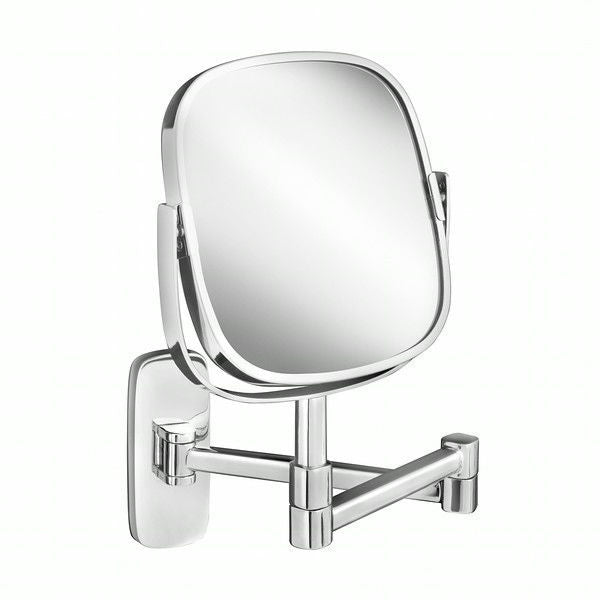 Robert Welch Burford Extending Mirror In Polished 18/10 Stainless Steel