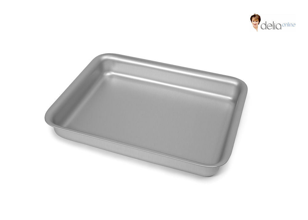Silverwood Bakeware Delia Smith 26cm x 20cm Oblong Cake Making Tin