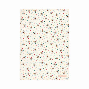 Emma Bridgewater Bumblebee and Small Polka Dot Tea Towel, 100% Cotton