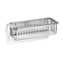 Robert Welch Burford Bathroom Single Shower Basket In Polished Stainless Steel