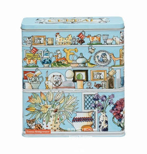 Emma Bridgewater Setting Up Home Cereal Rectangular Storage Tin EB3371