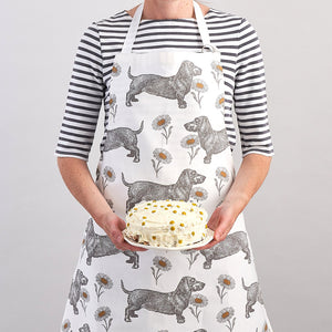 Thornback & Peel Apron, Dog & Daisy Design, 100% Cotton