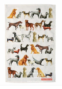 Emma Bridgewater Dogs Collection Tea Towel, 100% Cotton