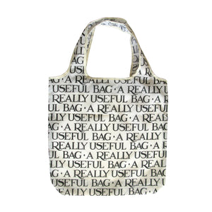 Emma Bridgewater Black Toast Reusable Fold Away Pouch Shopping Bag, Cream