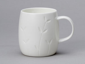 Repeat Repeat Quinto White Bone China Mug - Sapling