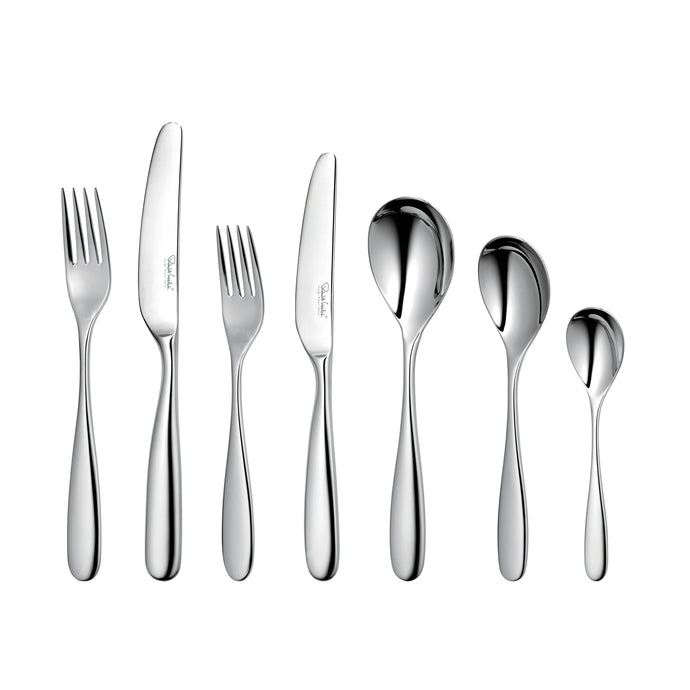Robert Welch Stanton Bright 7 Piece Cutlery Set Single Place Setting - Gift Boxed