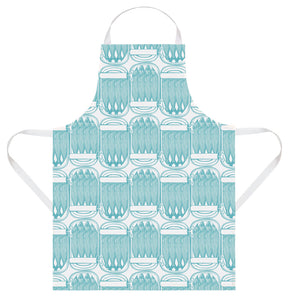 Thornback & Peel Apron, Sardines Design, 100% Cotton