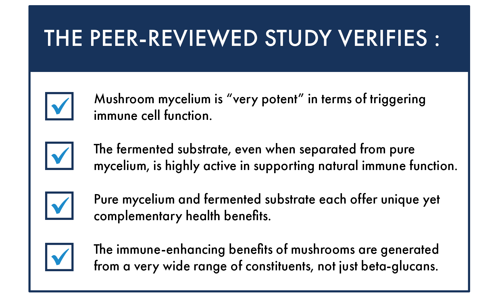 Immune Benefits of Mycelium and Fermented Substrate