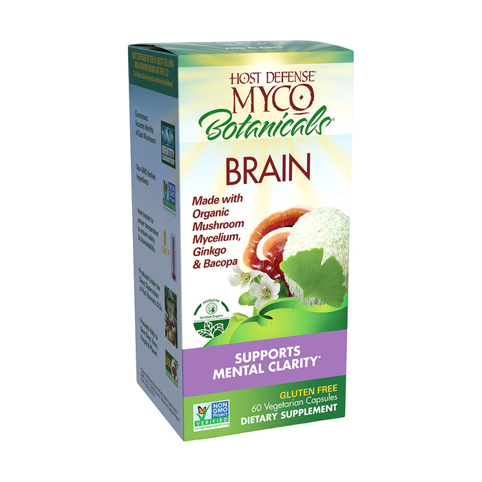 Host Defense® MycoBotanicals® Brain Capsules - 60 ct