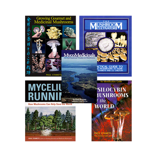 Special Price for 5 of Paul Stamets' Books