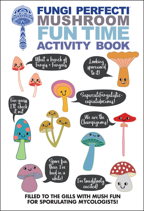 Fungi Perfecti Mushroom Funtime Activity Book