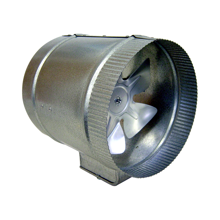 Two-Speed In-Line Duct Fan - 8 in Diameter