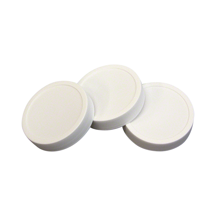 70 mm Autoclavable Plastic Lids - Set of 10