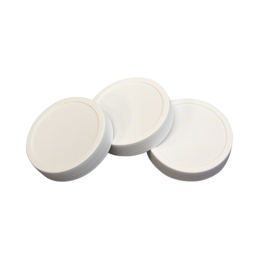 70 mm Autoclavable Plastic Lids - Set of 100