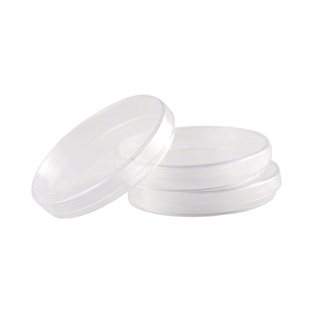 Presterilized Plastic Petri Dishes - Sleeve of 20