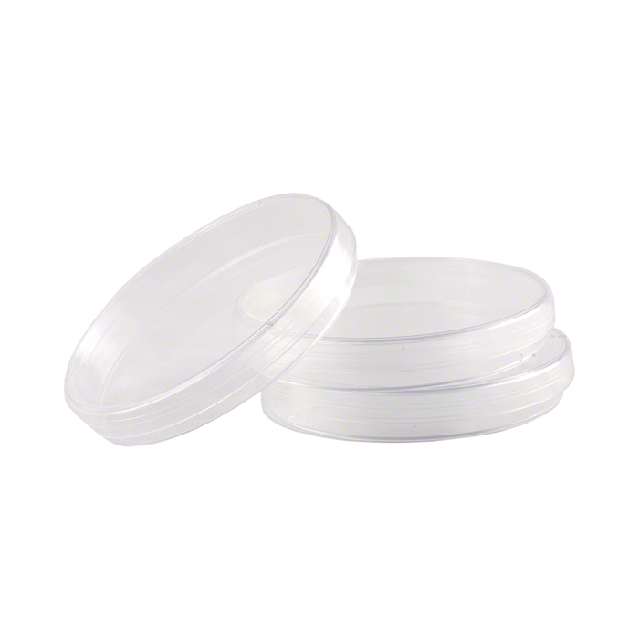 Presterilized Plastic Petri Dishes - Case of 500