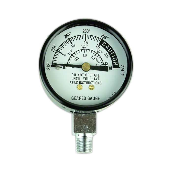 Replacement Pressure Gauge for Pressure Cookers