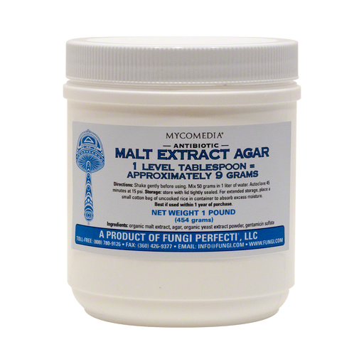 Antibiotic Malt Extract Agar - 1 Pound