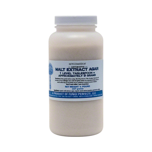 Antibiotic Malt Extract Agar - ½ Pound
