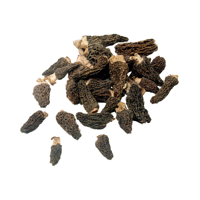 Dried Whole Wild Harvested Morel Mushrooms - 1 oz