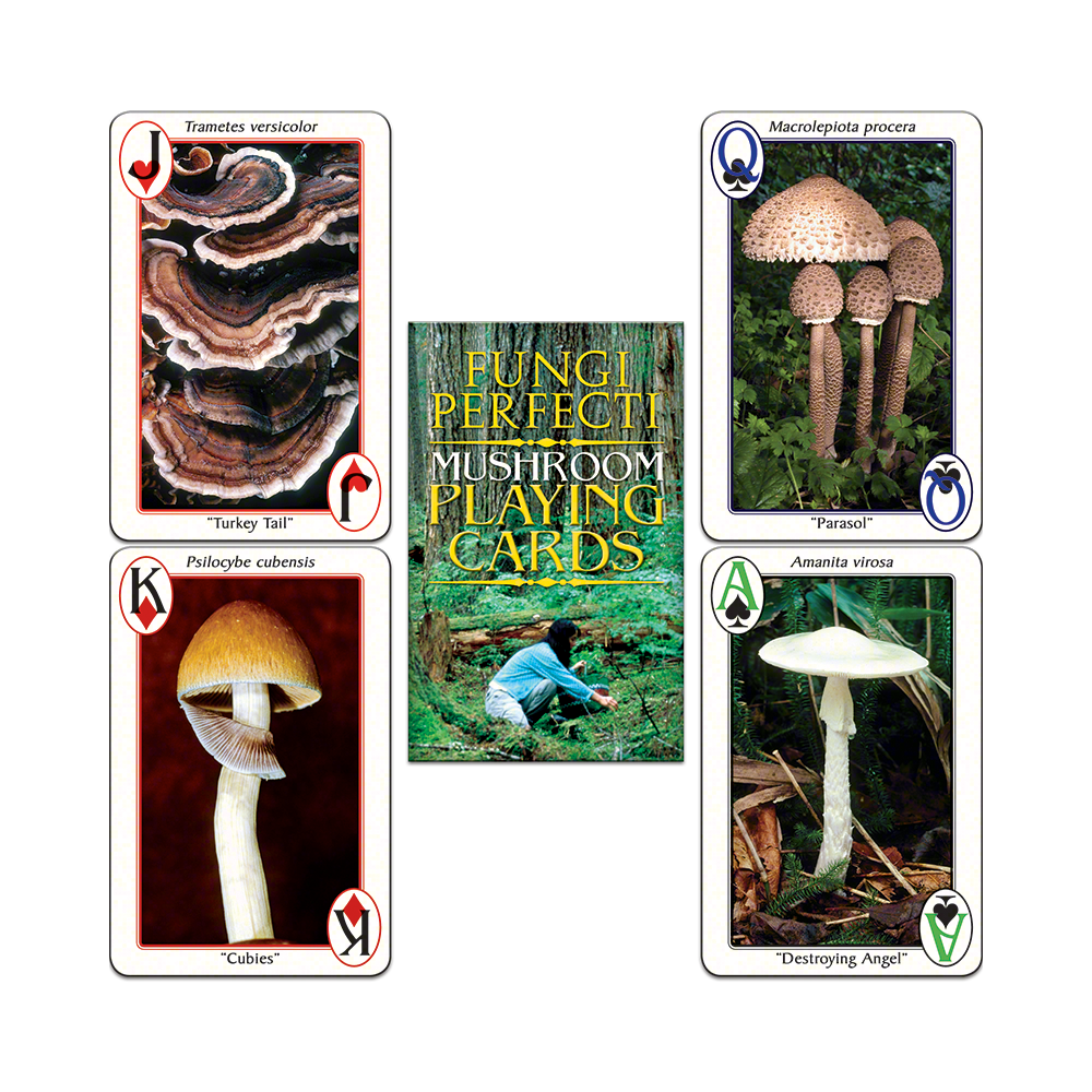FP's Original Mushroom Playing Cards