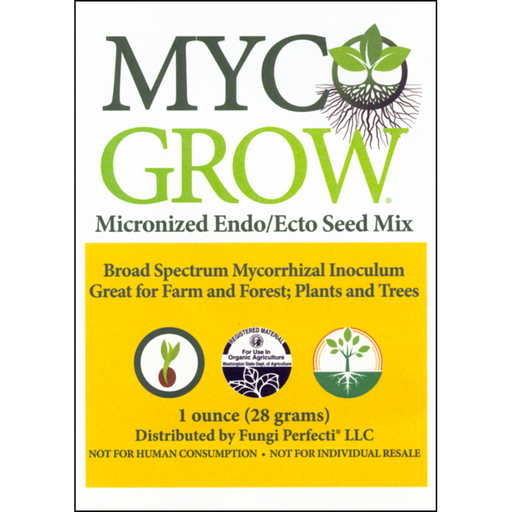 MycoGrow® Micronized Endo/Ecto Seed Mix - 1 oz