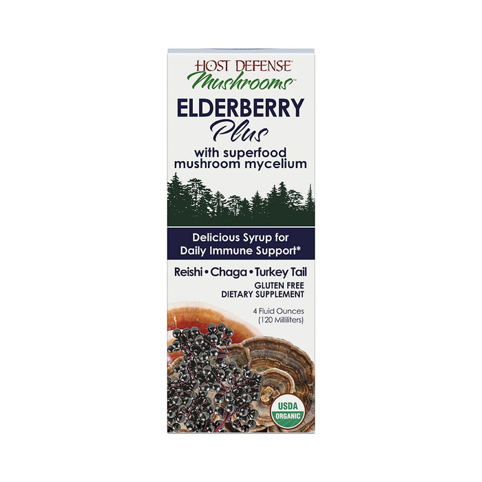 Host Defense® Elderberry Plus Syrup