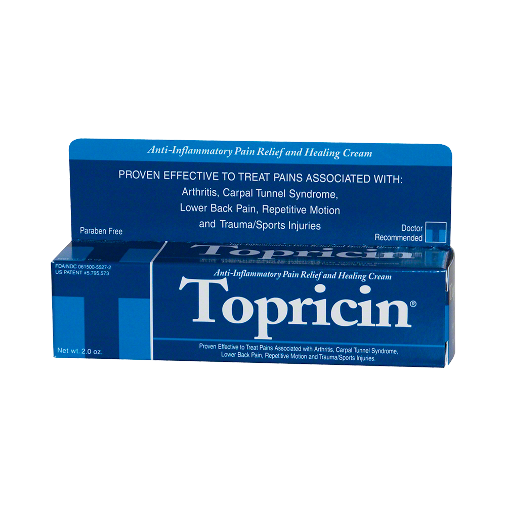 Topricin® Homeopathic Topical Lotion