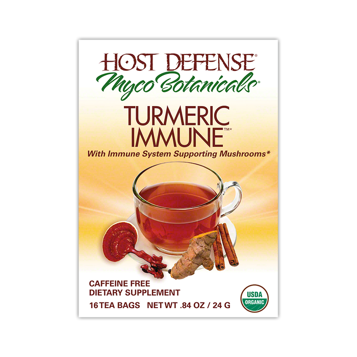 MycoBotanicals® Tea - Turmeric Immune™ - Host Defense Mushrooms
