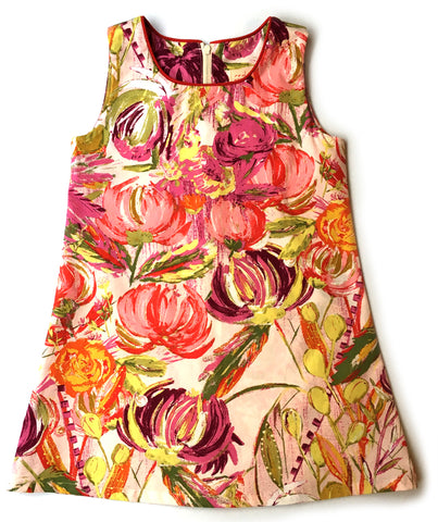 A is for A-Line Dress: Summer Flowers