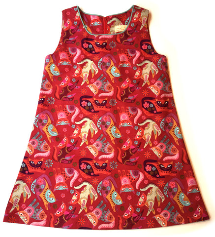 A is for A-Line Dress: Crazy Cats!