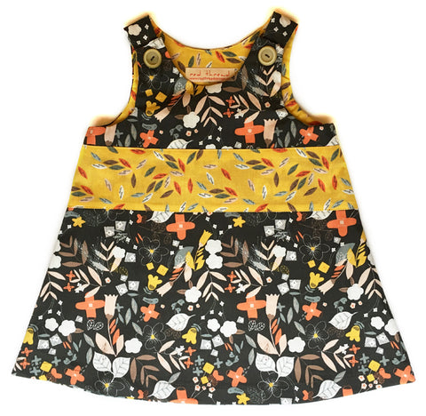 Caterpillar Dress - Black Forest
