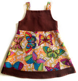 Jumper Dress - Butterflies (size 12 only)