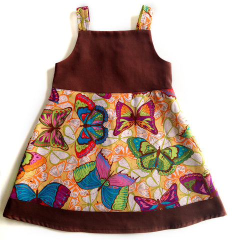 Jumper Dress - Butterflies