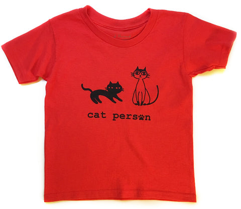 Cat Person Tee