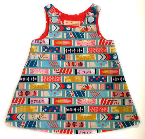 Caterpillar Dress - Yum! Gum!