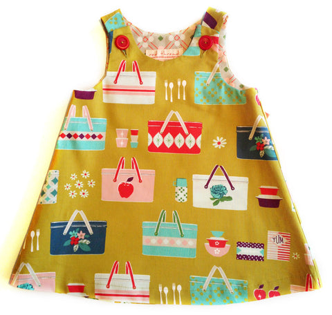 Caterpillar Dress - Retro Picnic