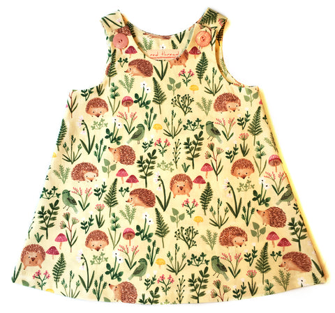 Caterpillar Dress - Little Hedgehogs