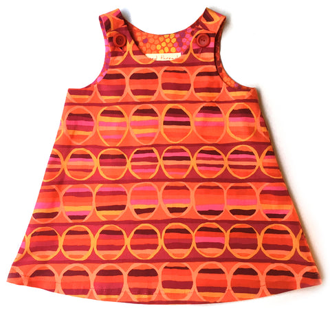Caterpillar Dress - Pop Art