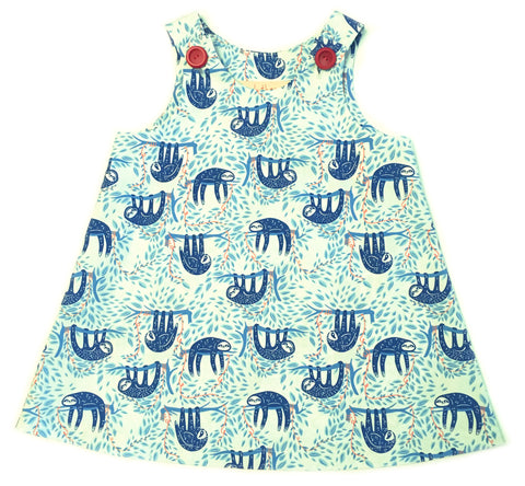 Caterpillar Dress - Sleepy Sloths
