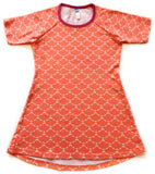 The Dandelion Tunic - Coral