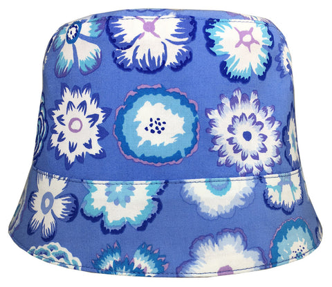 Reversible Summer Hat - Button Flowers
