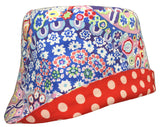 Reversible Summer Hat - Millefiori