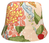Reversible Summer Hat - Peach Forest