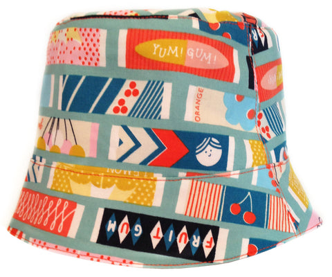 Reversible Summer Hat - Yum! Gum!
