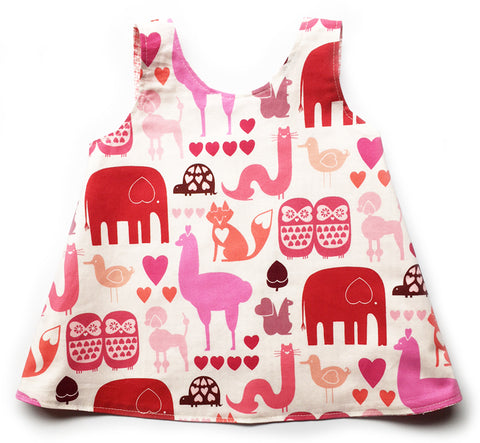 Mini Butterfly Dress - I Heart Animals