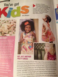 The Butterfly Sundress in Movie Entertainment Magazine