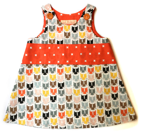 Caterpillar Dress - Mod Cats