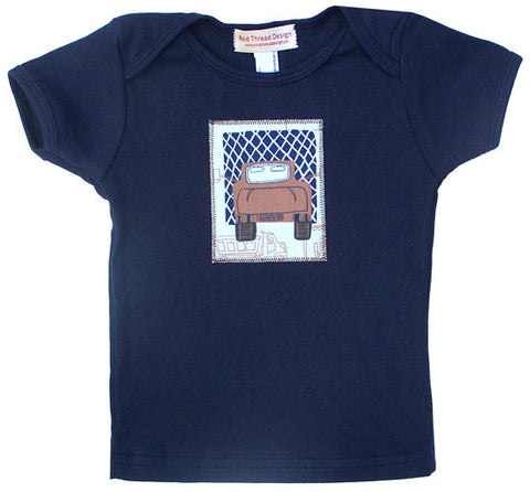 Big Trucks Tee - navy