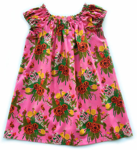 The Easy Dress - Pink Bouquet